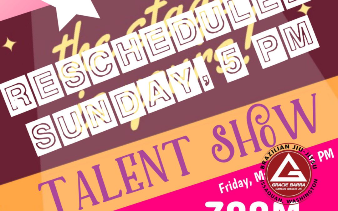 Talent show postponed