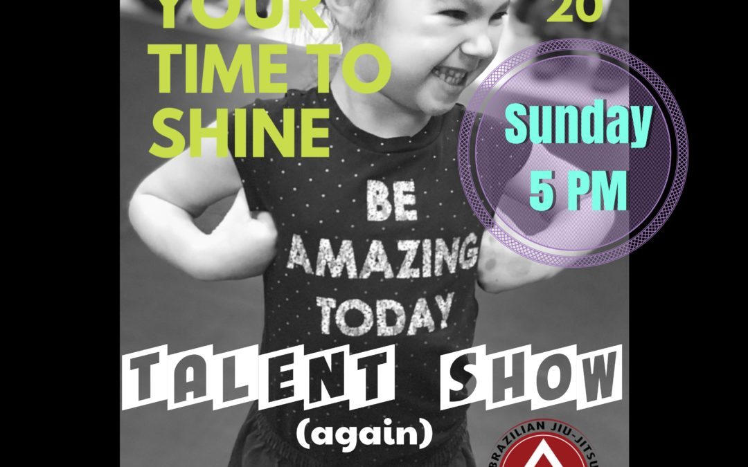 Talent show time and date!