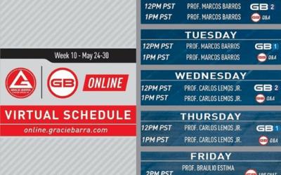 GB Online schedule