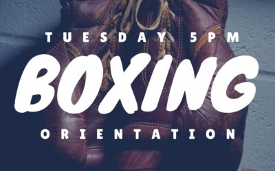 Boxing Orientation