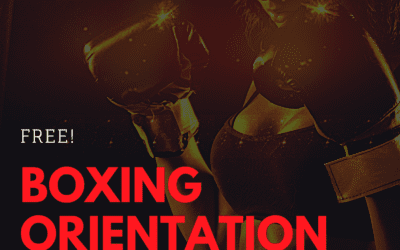 Next Boxing Orientation: Saturday, August 21st.
